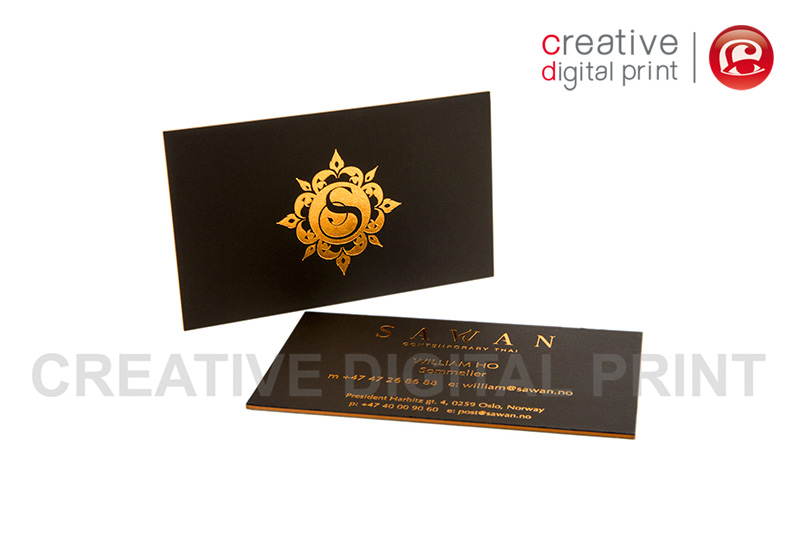 Print Special Techniques Business Cards